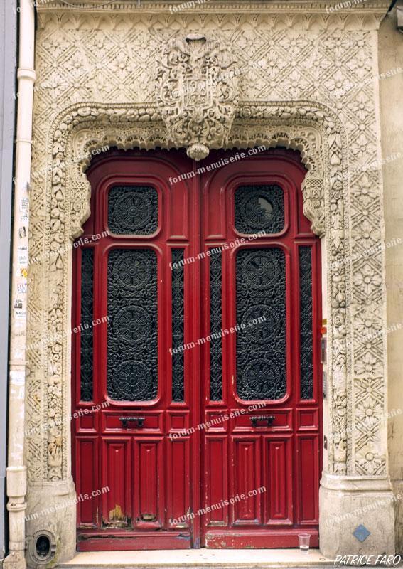 porte ancienne Paris Richelieu - Drouot