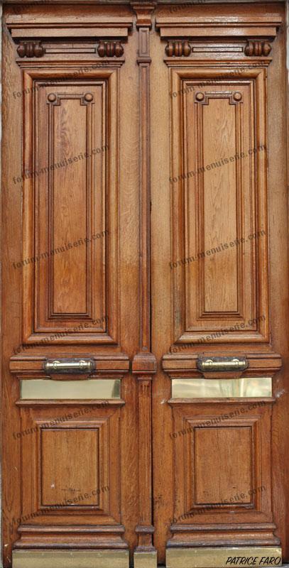 ancienne porte en bois classique