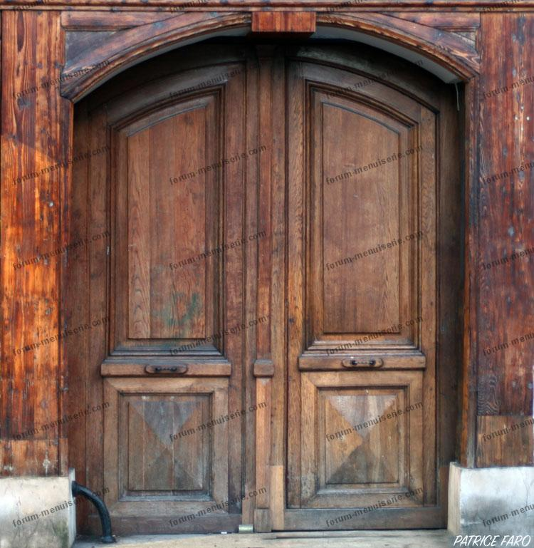 Porte en bois ancienne - Reparation de porte en bois ...