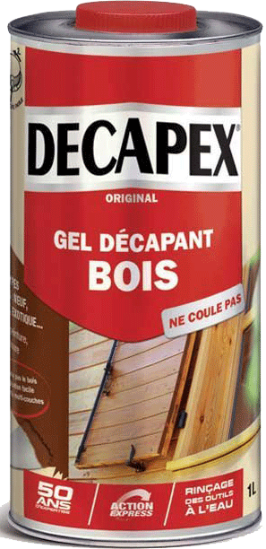 Decapex bois décapant gel