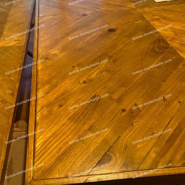 découper Table rectangulaire