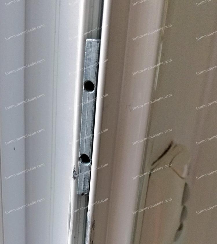 taquet de fermeture de baie vitrée
