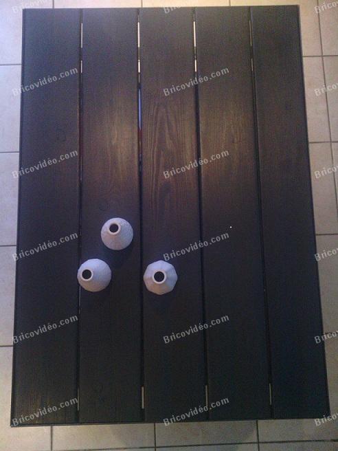 fabrication de table en bois
