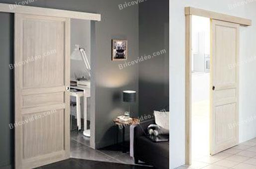 installation thermique comment transformer une porte en porte coulissante. Black Bedroom Furniture Sets. Home Design Ideas
