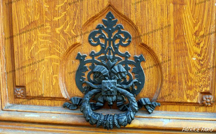 heurtoir de porte ancienne - Photo Patrice Faro
