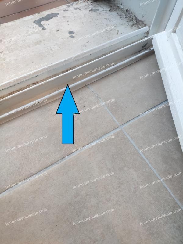 Problème inondation bas de fenêtre
