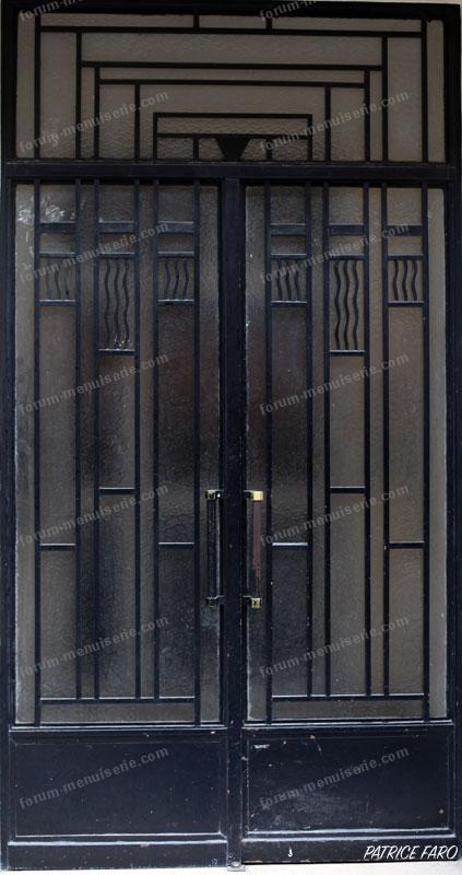 Paris porte Art-déco - Photo Patrice Faro