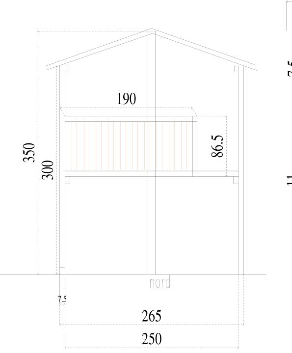 plan cabane nord