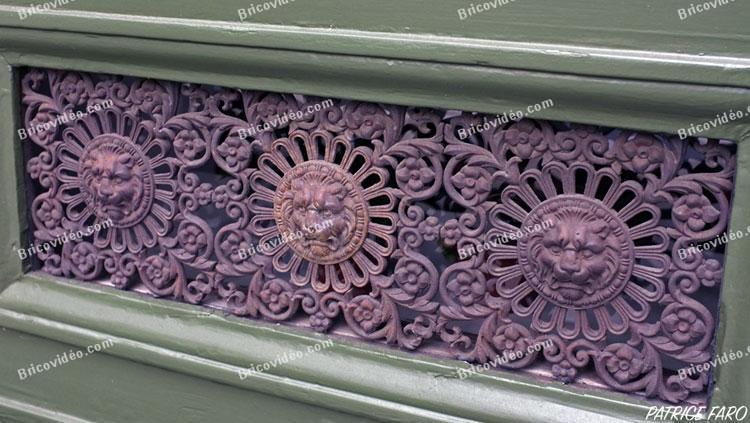 porte ancienne ferronnerie - Photo Patrice Faro