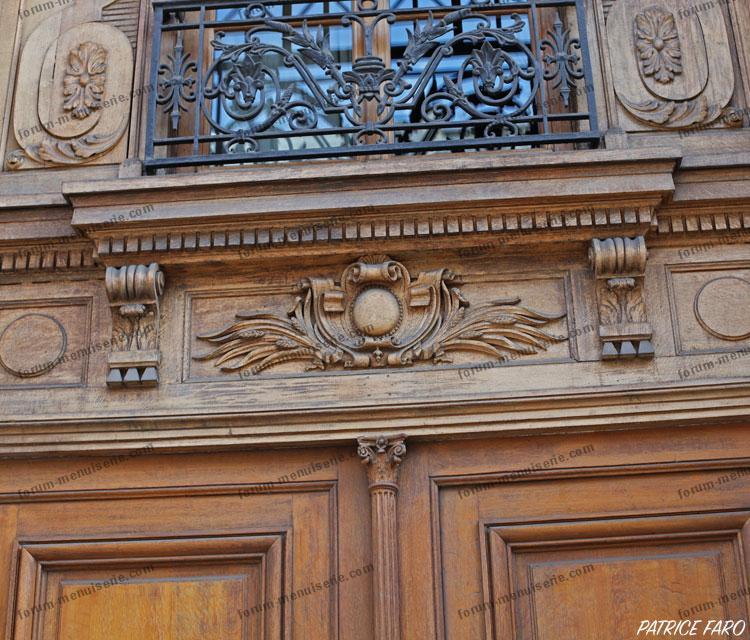 porte ancienne Paris - Photo Patrice Faro