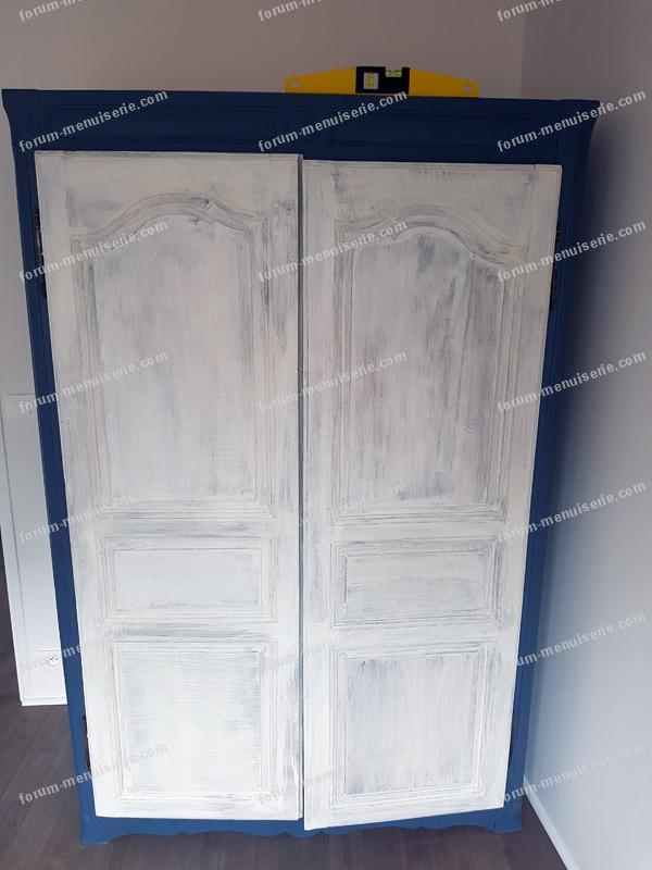 problème porte d'armoire décallée