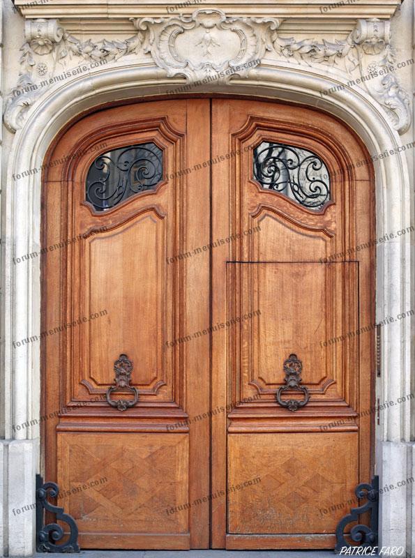 porte bois ancienne Paris - Photo Patrice Faro