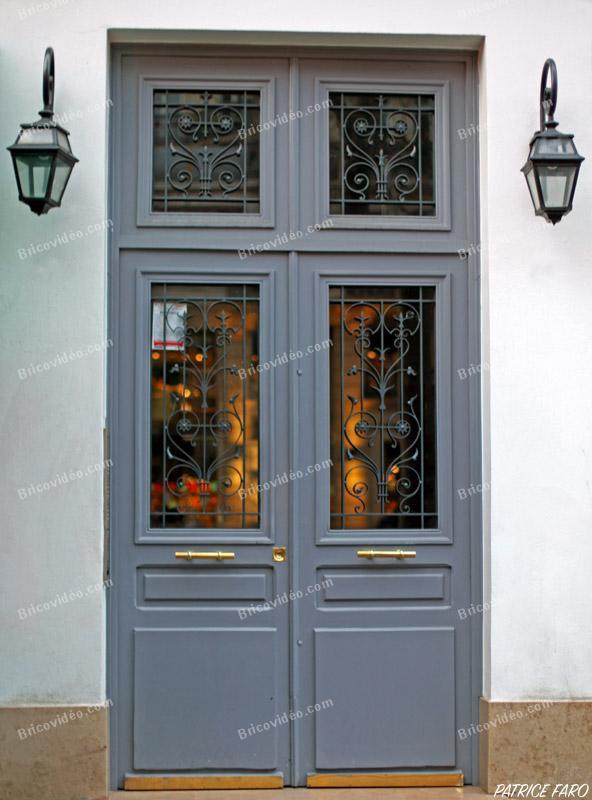 porte bois grise - Photo Patrice Faro