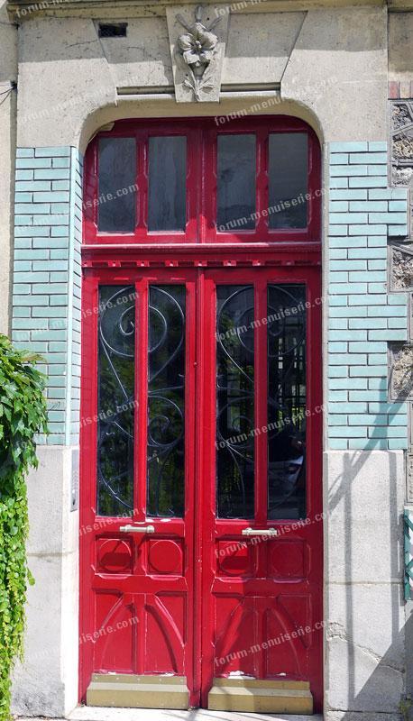 porte rouge - Photo Patrice Faro