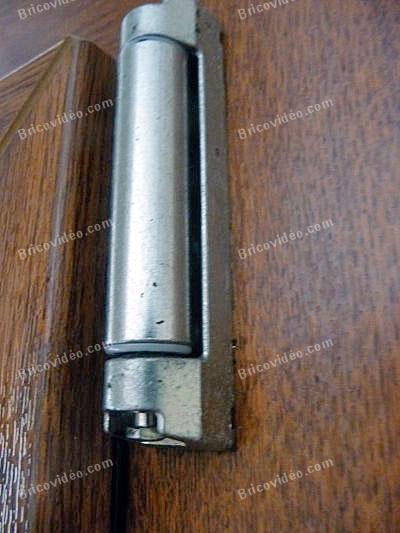 Problème de gâche de galet fenêtre PVC