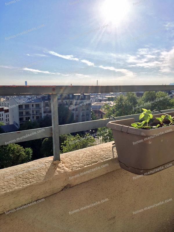 réaliser une tablette de balcon sur mesure