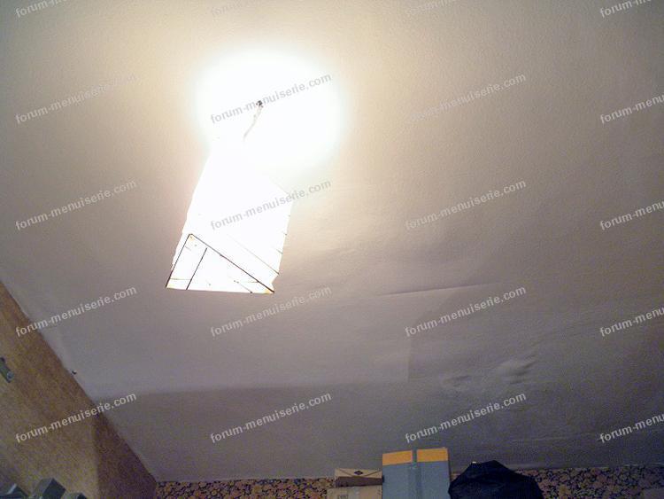 refaire plafond en terre