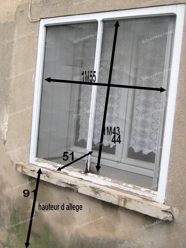 remplacer des fenetres en étage