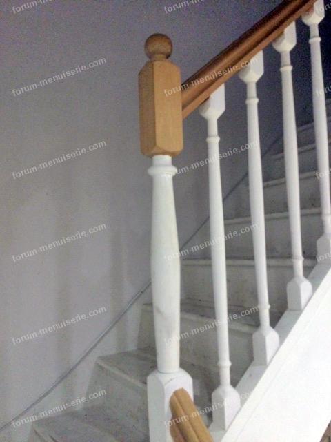 renforcement pilier escalier