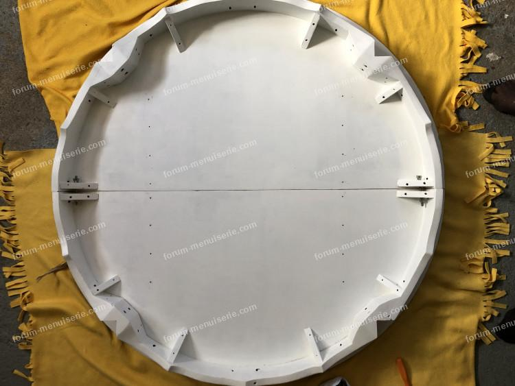 conseils rénovation table ronde