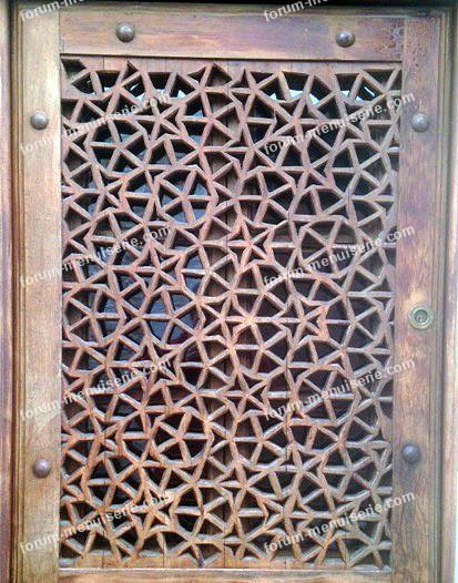 reproduction décoration porte