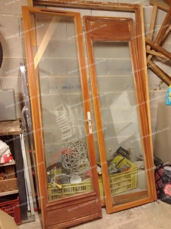 restauration fenêtres en bois double-vitrage